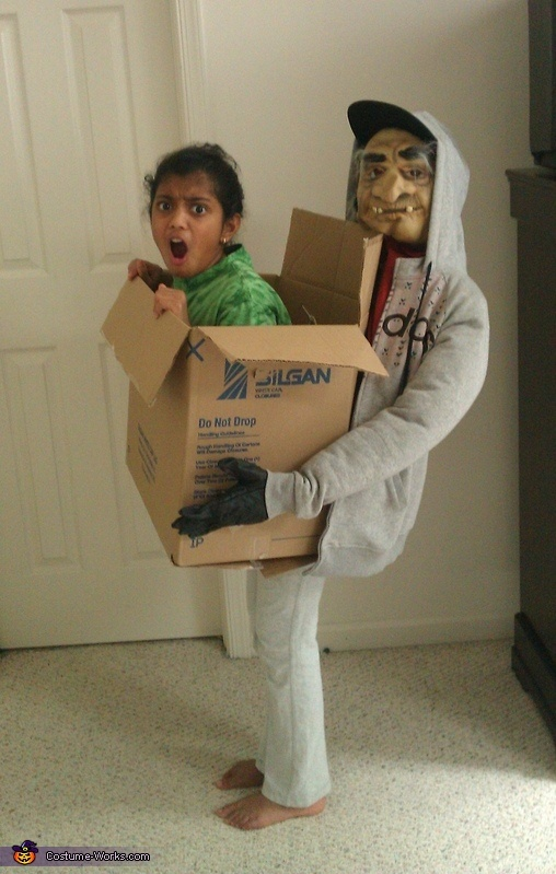 Kidnapped In A Box Costume