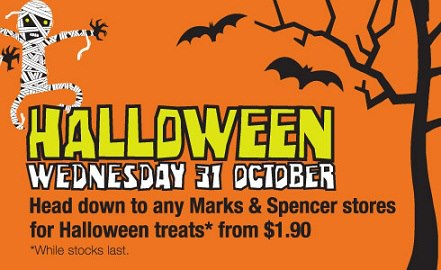 2012 Halloween Treats Marks & Spencer