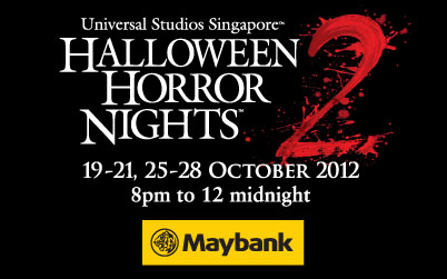 2012 USS Halloween Horror Nights 2 Maybank Promotion