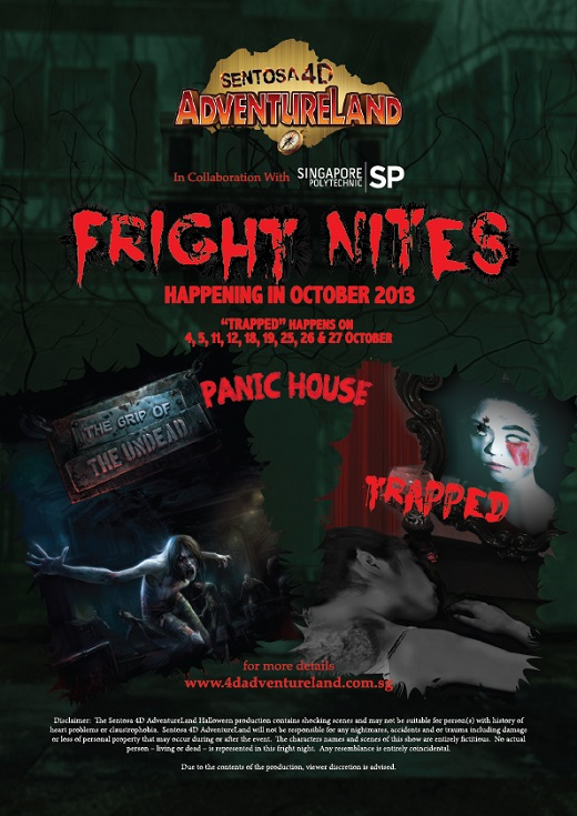 2013 Fright Nites Sentosa 4D Adventureland