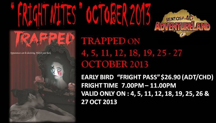 2013 Fright Nites @ Sentosa 4D Adventureland