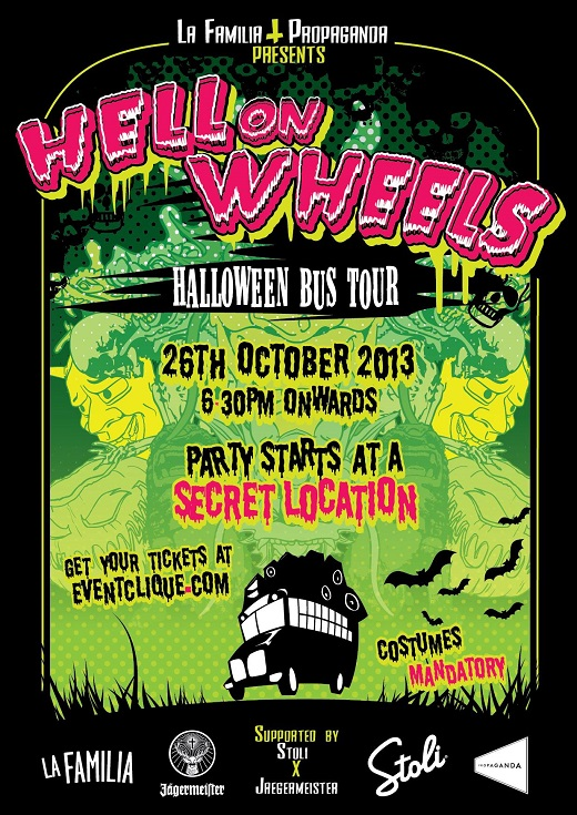 2013 Halloween Bus Tour - Various Locations