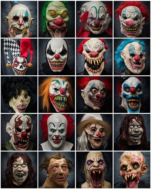 2013 Halloween Masks Rental - Movie Mania - Collection 1