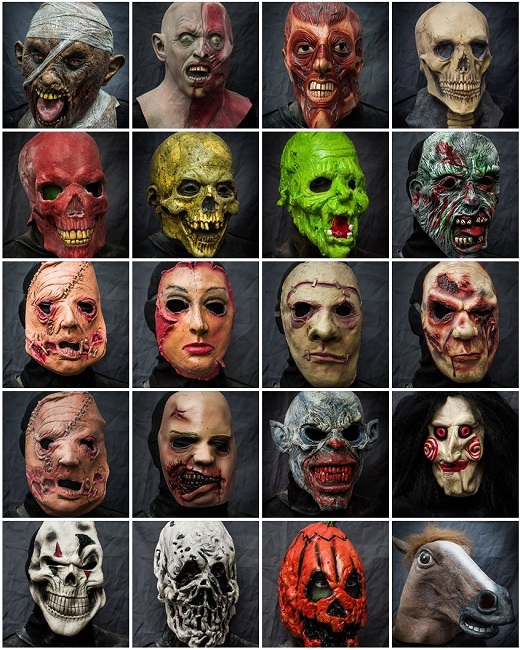 2013 Halloween Masks Rental - Movie Mania - Collection 2