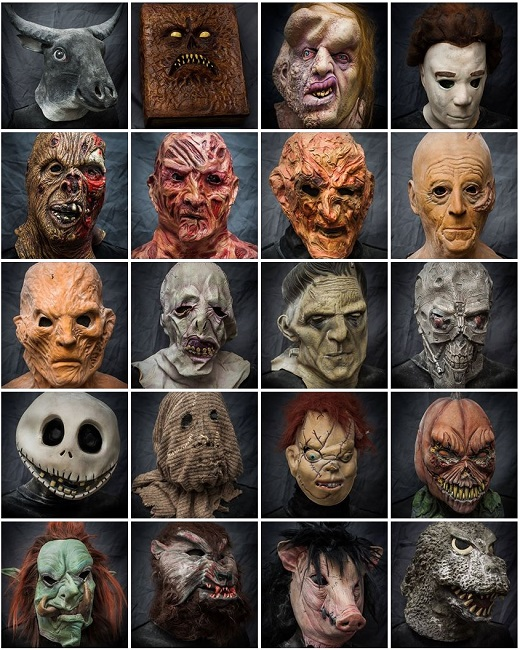 2013 Halloween Masks Rental - Movie Mania - Collection 3