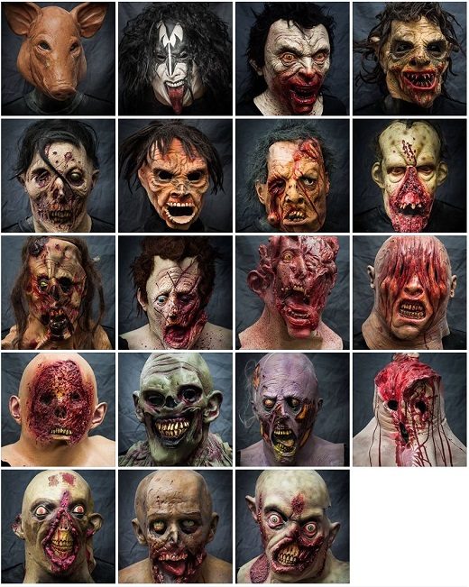 2013 Halloween Masks Rental - Movie Mania - Collection 4