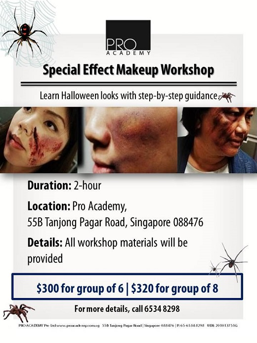 2013 Halloween Special Effect Makeup Workshop - Pro Academy