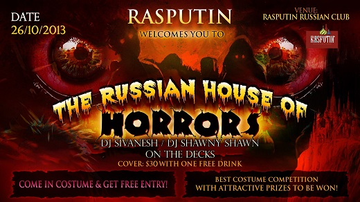2013 The Russian House Of Horrors - Rasputin