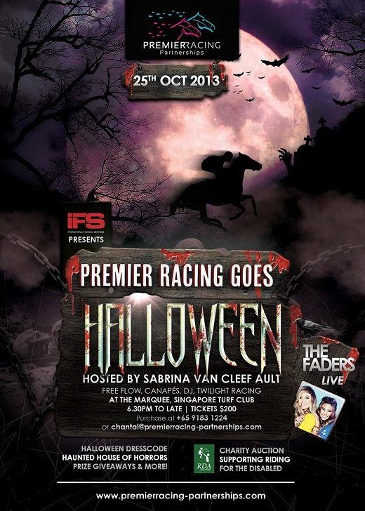 2013 Premier Racing Goes Halloween - Singapore Turf Club
