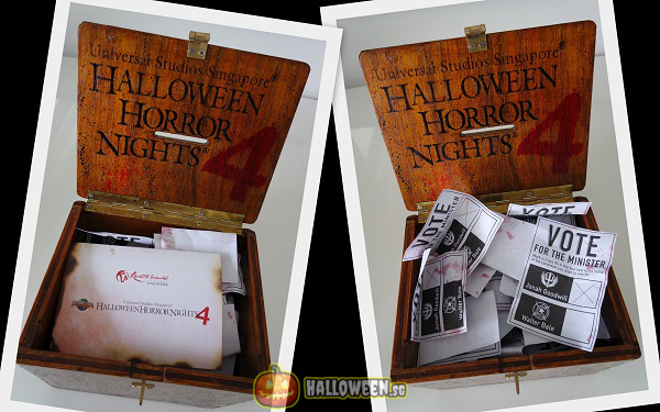 2014 Halloween Horror Nights 4 Inauguration - Ballot Box