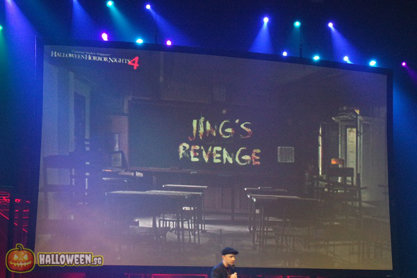 2014 Halloween Horror Nights 4 Inauguration - Jing's Revenge