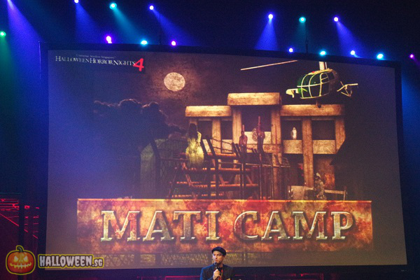 2014 Halloween Horror Nights 4 Inauguration - Mati Camp