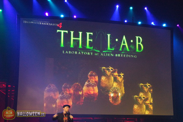 2014 Halloween Horror Nights 4 Inauguration - The LAB