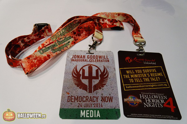 2014 Halloween Horror Nights 4 Inauguration - Media Pass