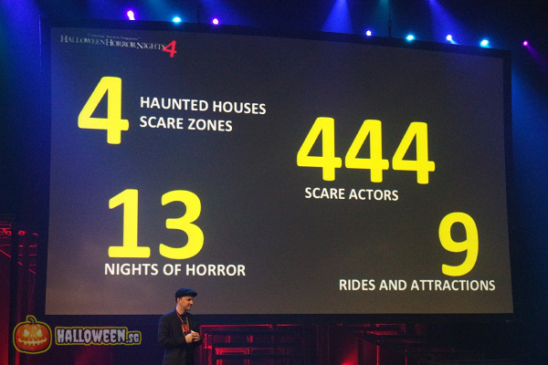 2014 Halloween Horror Nights 4 Inauguration - Preview