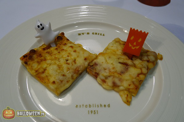 2014 Halloween Horror Nights 4 Inauguration - Pizza