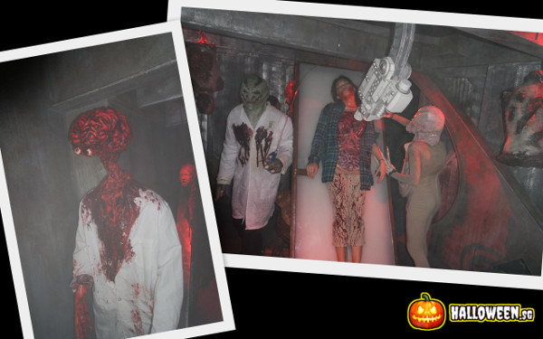 2014 Halloween Horror Nights 4 - The LAB - Grisly Experiments