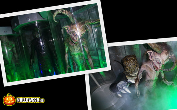 2014 Halloween Horror Nights 4 - The LAB - Breeding Aliens