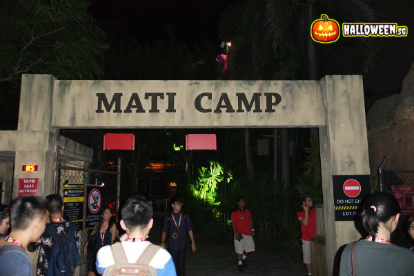 2014 Halloween Horror Nights 4 - MATI Camp