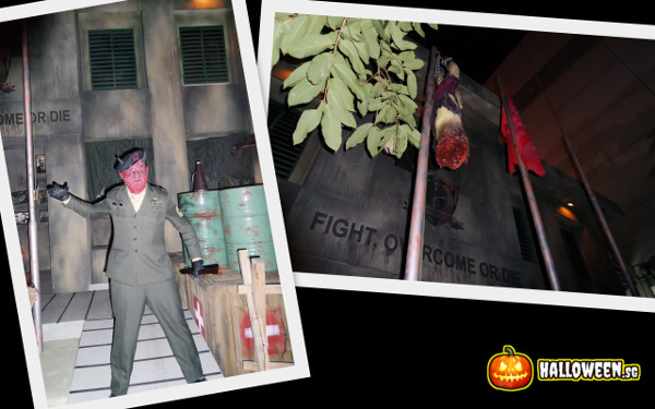 2014 Halloween Horror Nights 4 - MATI Camp - Sergeant Major