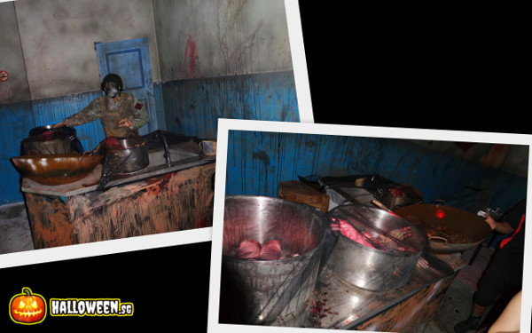 2014 Halloween Horror Nights 4 - MATI Camp - Cooking