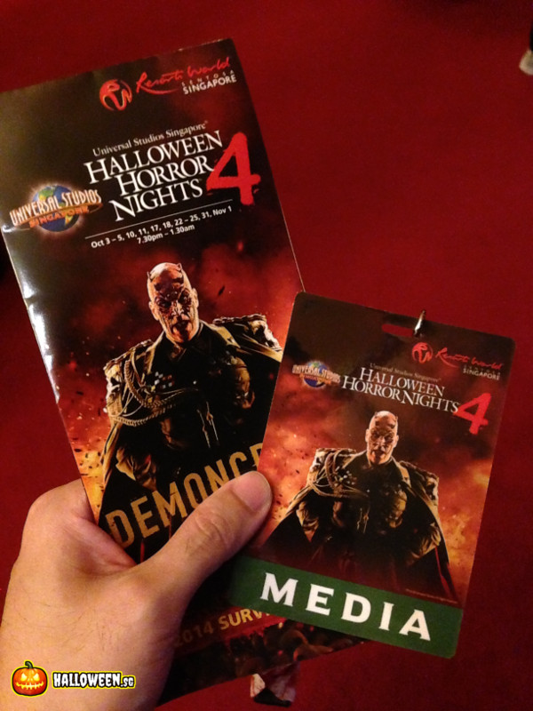 2014 Halloween Horror Nights 4 - Media Pass