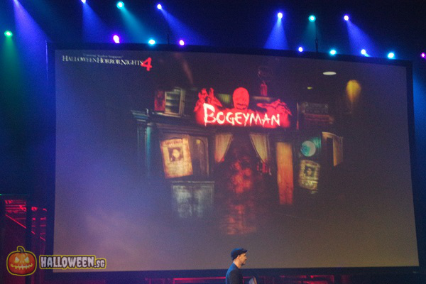 2014 Halloween Horror Nights 4 Inauguration - Bogeyman