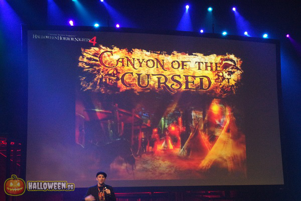 2014 Halloween Horror Nights 4 Inauguration - Canyon Of The Cursed