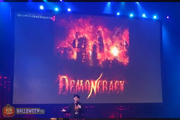2014 Halloween Horror Nights 4 Inauguration - Demoncracy