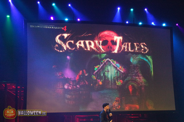 2014 Halloween Horror Nights 4 Inauguration - Scary Tales