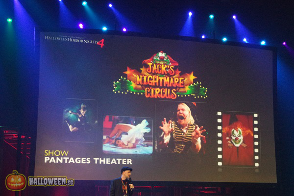 2014 Halloween Horror Nights 4 Inauguration - Jack's Nightmare Circus
