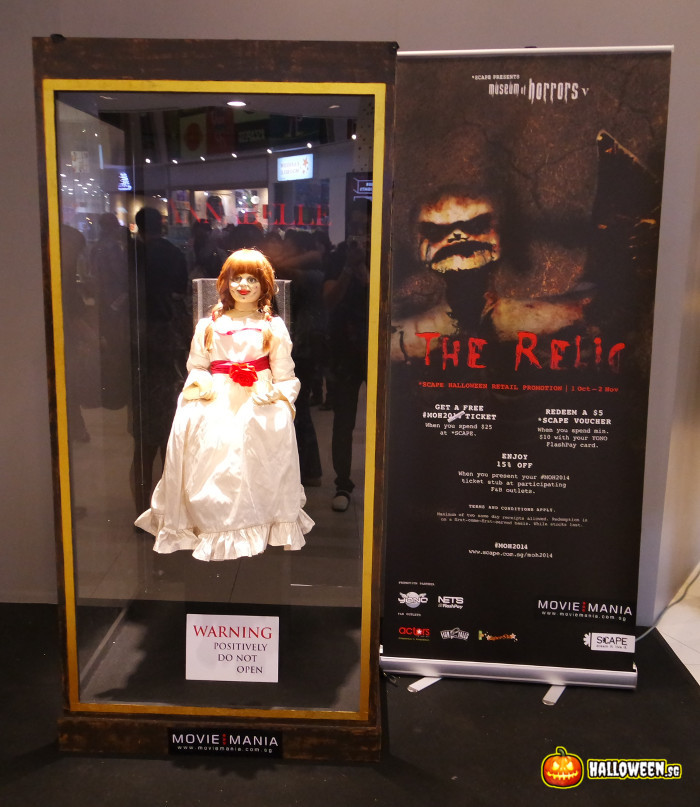 2014 Museum Of Horrors 5 - The Relic - Annabelle