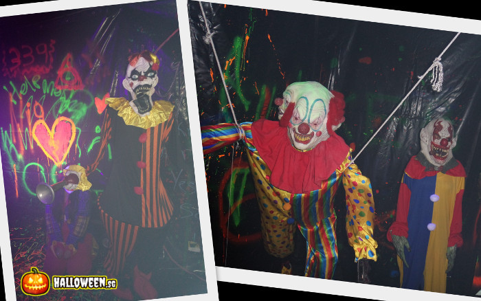 2014 Museum Of Horrors 5 - The Creepy Fun House - Clowns