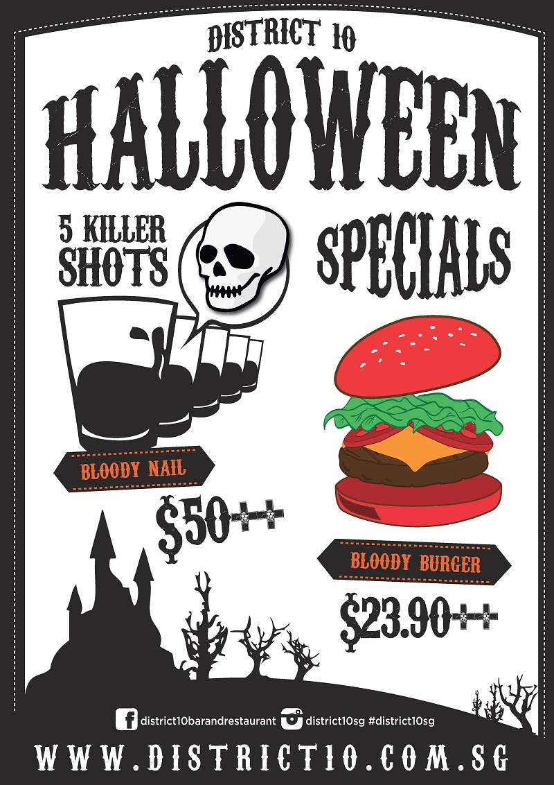 2014 Halloween Specials - District 10 UE Square